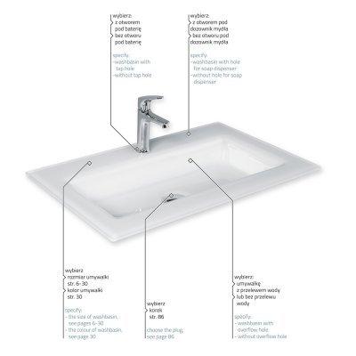 Large washbasins